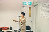 1989年10月7日撮影:経営計画発表会